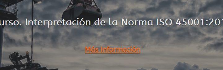 Interpretación de la Norma ISO 45001